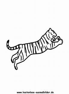 kostenlose ausmalbilder ausmalbild tiger 3