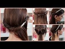 Frisur Mit Haarband - 5 minuten haarband frisuren einfache und schnelle
