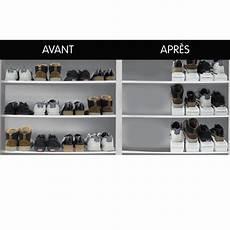 range chaussure gain de place sedao vente rangement les 8 range chaussures gain de place