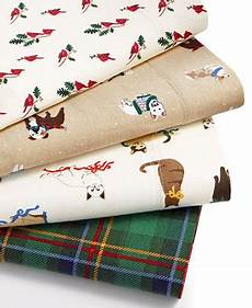 martha stewart collection printed novelty flannel sheet sets only at macy s sheets bed
