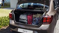 Dacia Logan 2017 Dimensions Boot Space And Interior