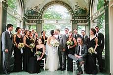 gray and black bridal party em for marvelous