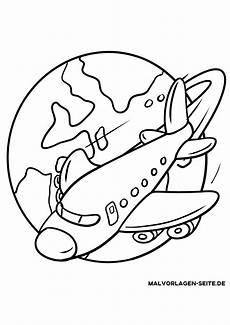malvorlage flugzeug kinderbilder kinderbilder