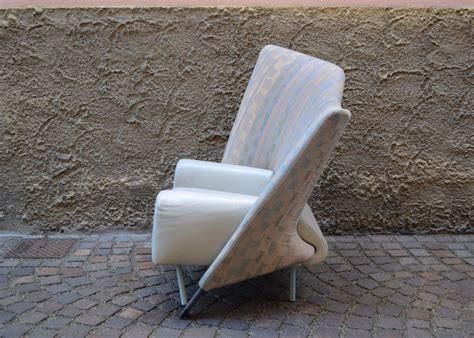 Poltrona Frau Anni 80 : Paolo Deganello For Cassina '654 Torso' 80's Armchair