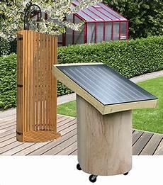 warmwasser mit solar solar warmwasser f 252 r gartendusche im garten und auf der alm