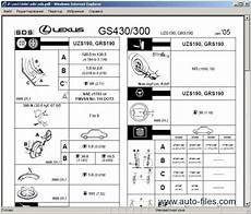 free service manuals online 2001 lexus gs electronic valve timing lexus gs430 gs300 1998 repair manuals download wiring diagram electronic parts catalog