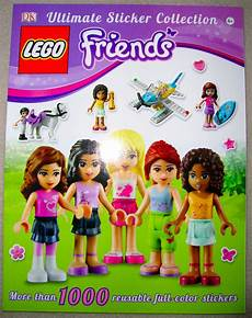 Malvorlagen Lego Friends Ultimate Lego Friends Ultimate Sticker Book Collection W 1000