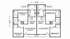 free duplex house plans duplex floor plans house with garage plan for building