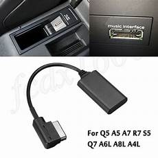 audi bluetooth adapter ami mmi blueto adapter aux cable audio radio for q5 a5 a7