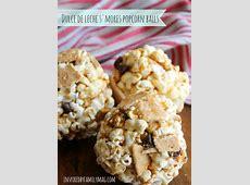 dulce de leche popcorn balls_image