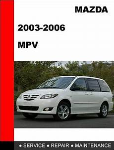 free service manuals online 2006 mazda mpv instrument cluster mazda mpv 2003 2006 workshop factory service repair manual tradebit