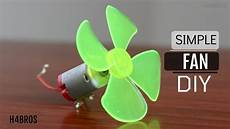 how to make simple fan using dc motor youtube