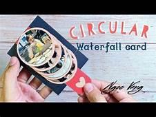 L&224m Thiệp Waterfall Tr&242n/ Circular Card  NGOC