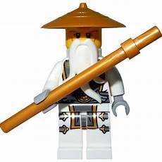 Ninjago Lego Sensei Wu Lego Ninjago Minifigur Master Wu Sensei Wu With Staff