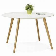Table 224 Manger Style Scandinave Ronde Millet En Bois 216