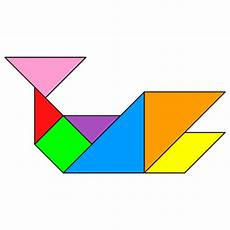 worksheet household 18902 tangram whale tangram solution 92 providing teachers and pupils with tangram activities