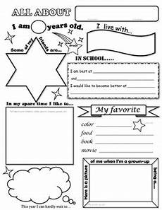 all about me worksheet by carol marit teachers pay teachers