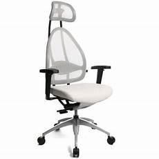 si 232 ge de bureau ergonomique sp 233 cial mal de dos blanc