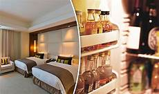 hotels could remove mini bars and wardrobes as they change
