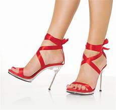 Rote High Heels - heel sandals high heels