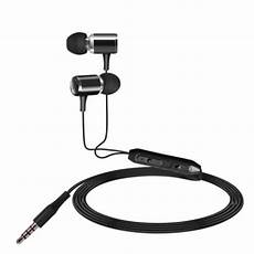 Professional Wired Earphone Heavy Bass Headphone by New Heavy Bass Earphone Metal Stereo Wired Headphone
