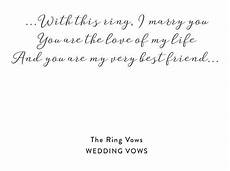 ceremony of the rings ring exchange with full ceremony script bridal inspiration wedding