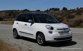 Review 2014 Fiat 500L With Video  24 Cars Blue Sky