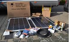 solaranlage wohnmobil inkl einbau solaranlage f 252 r boot und wohnmobil hamburg040