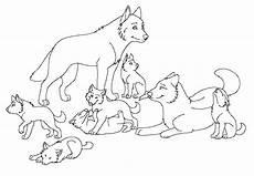 Ausmalbild Wolf Baby Konabeun Zum Ausdrucken Ausmalbilder Wolf 26252