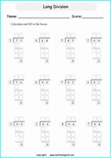worksheets for division for grade 4 6529 printable and division worksheets and exercises for grade 4 and 5 math students