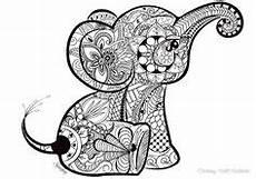 Malvorlagen Mandala Elefant Elefant Ausmalbild Erwachsene Mandalas