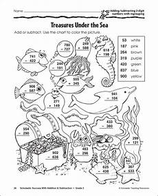 subtraction with regrouping color by number worksheets 10612 subtraction with regrouping coloring pages 3rd grade coloring coloring pages