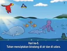 Komik Alkitab Anak Allah Menciptakan Langit Dan Bumi