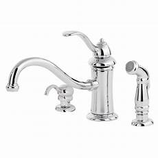 kitchen faucet prices pfister marielle single handle standard kitchen faucet with side sprayer and soap dispenser in