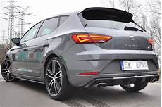 seat cupra facelift rear valance seat mk3 cupra facelift textured our