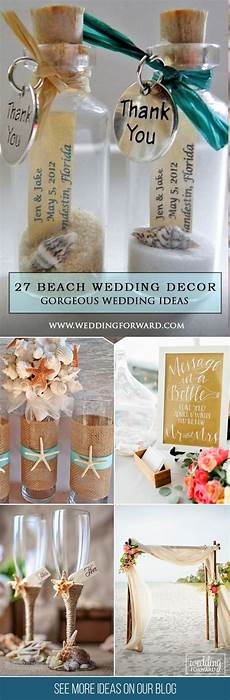 25 best ideas about beach wedding decorations on