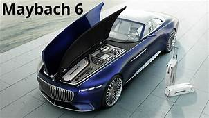 Mercedes Maybach 6 Cabriolet  Electric Ultra Luxury 750