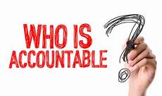 non responsable responsibility vs accountability partners in leadership