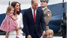 kate middleton prince william arrive in poland with
