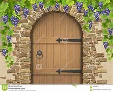 vo 251 te des raisins en et de porte en bois