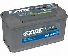 exide premium ea1000 12v 100ah ab 86 85 preisvergleich