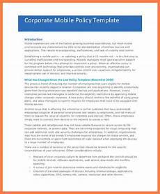 company credit card policy templates 7 company policy template company letterhead