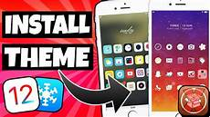new how to install theme ios 12 12 1 2 no computer ios 12 jailbreak iphone ipad ipod 2019