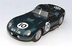 lister jaguar 1 43 mimodels 1958 lister jaguar le mans 10 halford naylor