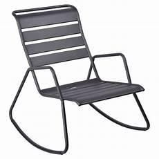 rocking chair monceau rocking chair metal pour salon de
