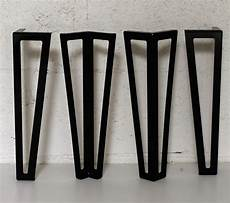 pied pour table basse pied type hairpin legs pour table basse 40cm ref