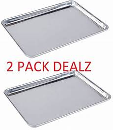 18 x 13 half size aluminum sheet pan commercial grade for