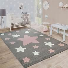 kinderzimmer teppiche kinderzimmer teppich sterne grau teppichcenter24