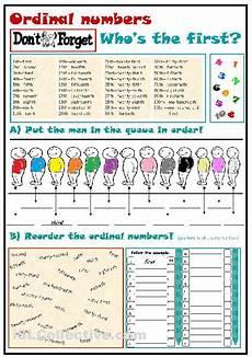 ordinal numbers worksheet free esl printable worksheets made by teachers coisas usar
