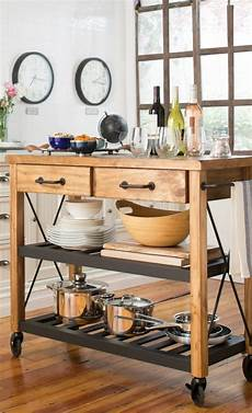 Kitchen Island On Wheels Plans by Plans For A Portable Kitchen Island Woodworking Projects